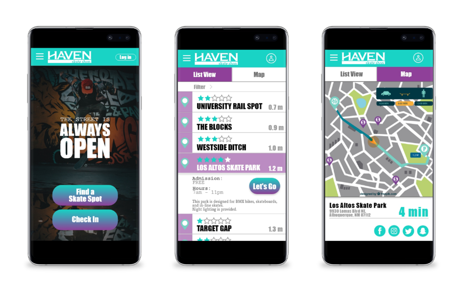 mobile communication is an important aspect of Haven's customer relations.